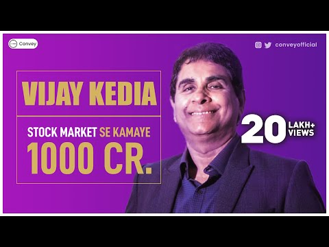 Vijay Kedia Success Story