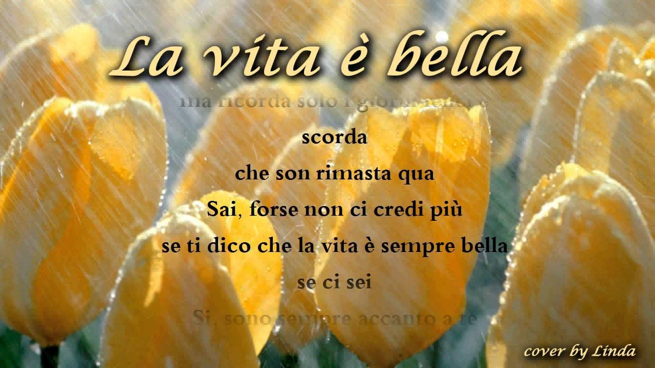 Favoloso La vita è bella (Beautiful that way). Testo di Roberto Benigni  NH09
