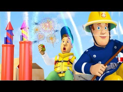 Fireman Sam New Episodes HD  All at Sea  Fireworks Explosion!  Fighting Fire 🔥 🚒  Kids Cartoon
