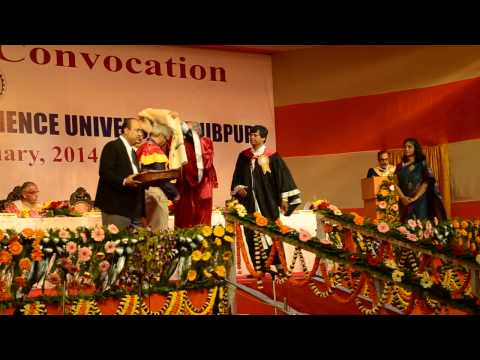 16th Annual Convocation of Bengal Engineering & Science University, Shibpur, 2014 - Part 6