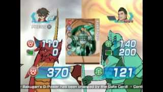 Bakugan: Battle Brawlers (PS2 Gameplay)