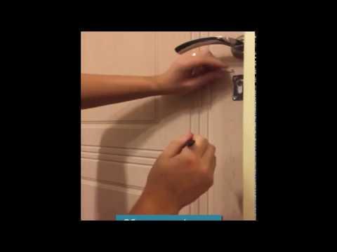 Взлом отмычками    Как открыть скрепкой шпилькой