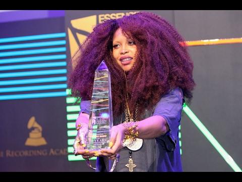 Erykah Badu honored at Essence Black Women In Music Grammy Celebration