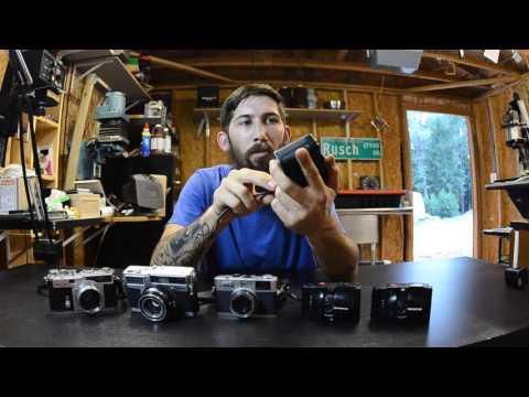 Film Camera Breakdown 35mm-4x5