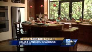 The Breast Cancer Show House on 12 News This Morning Saturday