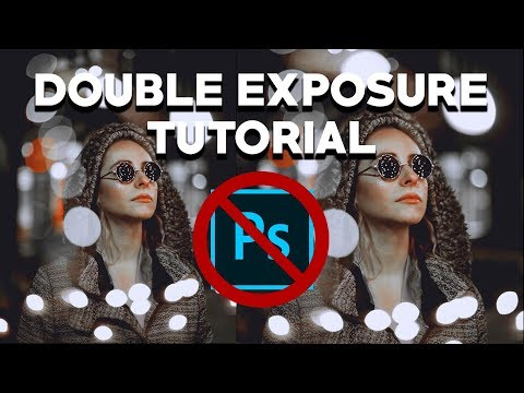 Double Exposure Photography: How to Create Double Exposure Portraits WITHOUT Photoshop