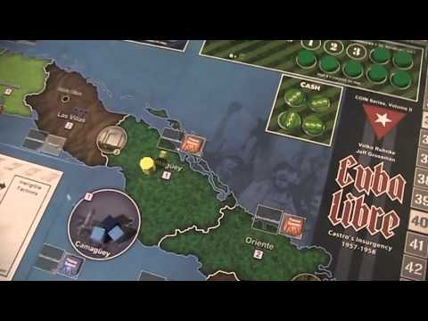 A lonesome Gamer plays Cuba Libre pt 1