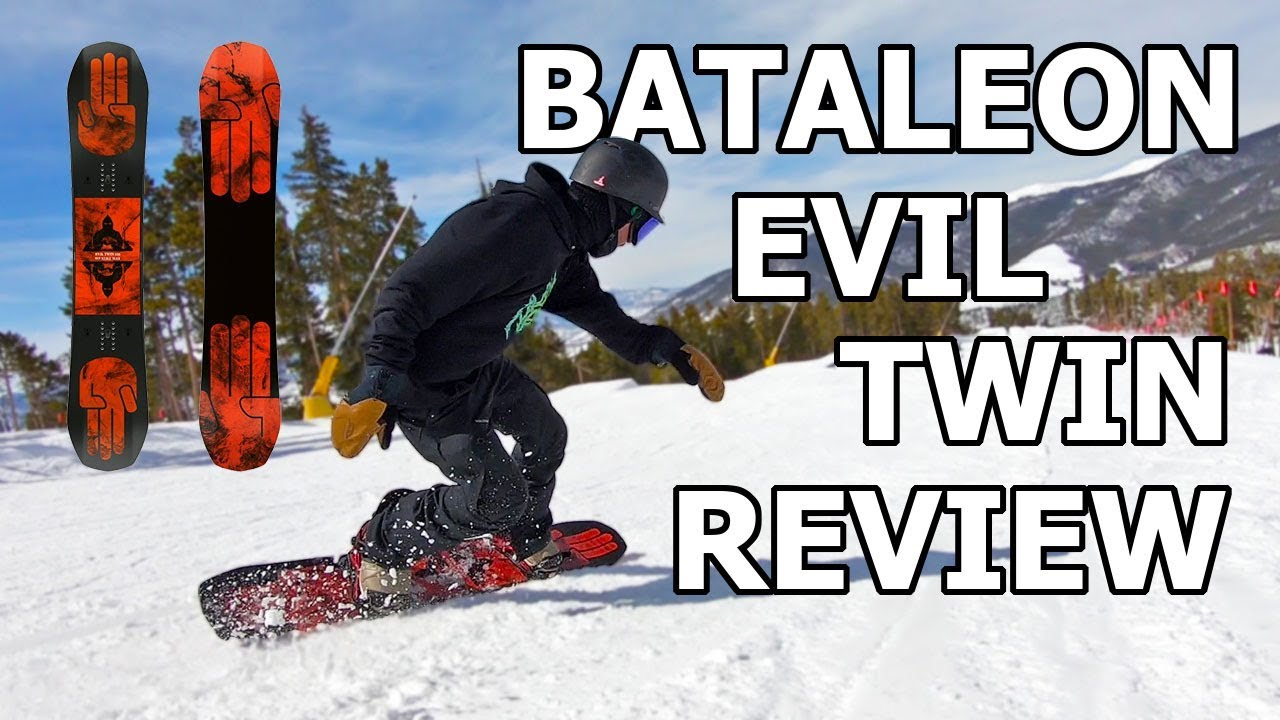 92a694a5ba69 Bataleon Evil Twin Snowboard Review - YouTube