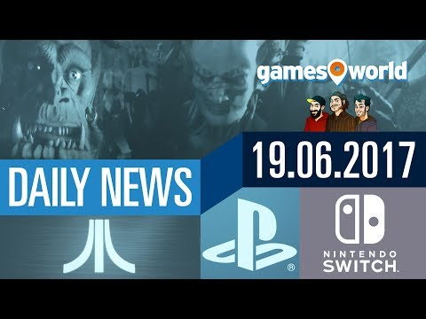 Atari-Konsole, Blizzard-Remasters, Switch-Cloud, Sony-Releases | Gamesworld Daily News - 19.06.2017