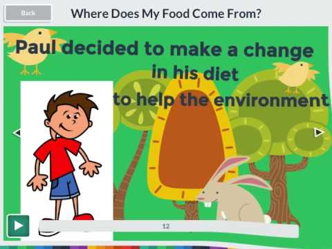 Where Does My Food Come From? Midterm Project - YouTube
