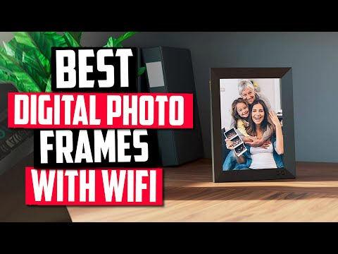 Best Digital Photo Frame With WiFi in 2020 [Top 5 Digital Picture Photo Frames]
