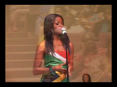 MISS AFRICA USA 08 : WINNER MISS  SOUTH AFRICA, MISS KENYA,