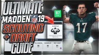 How To Scout and Draft Like A Boss In Madden 19 | Madden 19 Franchise Scouting and Drafting Guide