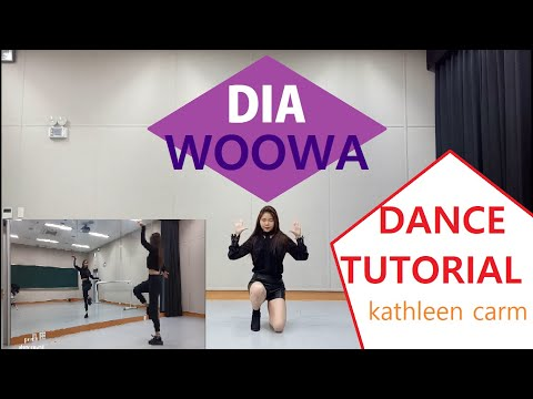 DIA (다이아) _ Woowa(우와)_  Dance Tutorial By Kathleen Carm