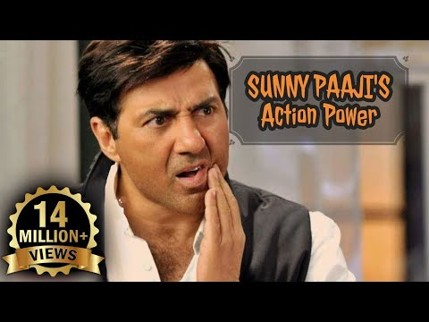 Sunny Deol Best Action Fight Scenes Ever - Must Watch!!