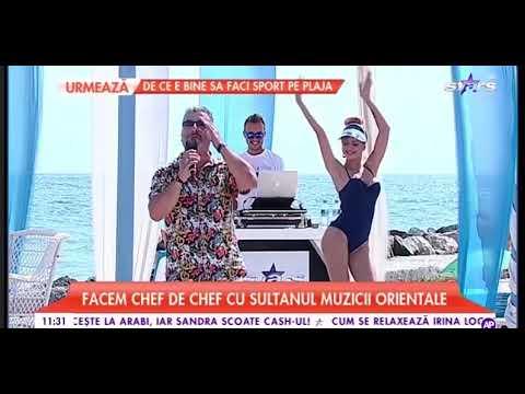 Gazi Demirel chef de chef cu sultanul muzicii orientale 24.08.2018 Antena Stars