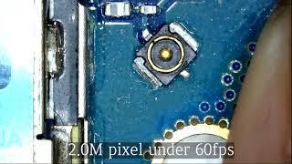 디지버드 USB현미경 프레임 수 비교