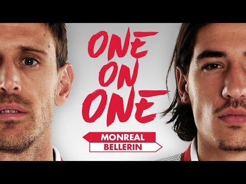 NACHO LOOKS LIKE CROUCHY? | Bellerin & Monreal go 'One on One'