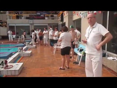 Meeting De Natation De La Ville De Paris 2016