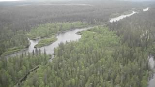 Река Пана, Мурманская область, Кольский полуостров / Salmon fishing