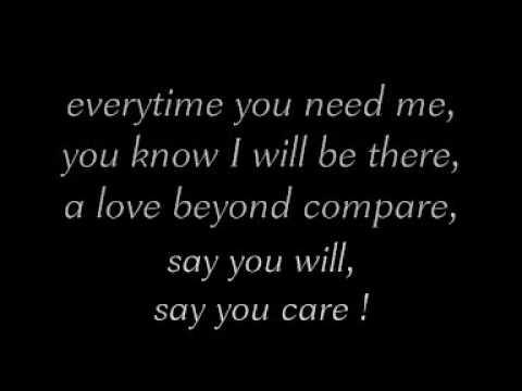 Everytime You Need Me  Fragma lyrics