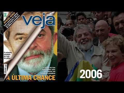 A trajetória de Lula pelas capas de VEJA