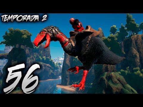 TERROR BIRD ALPHA CAPTURADO Y GUARDIAN DOEDICURUS DORADO! | SOLO EN LA ISLA #56 | Temporada 2