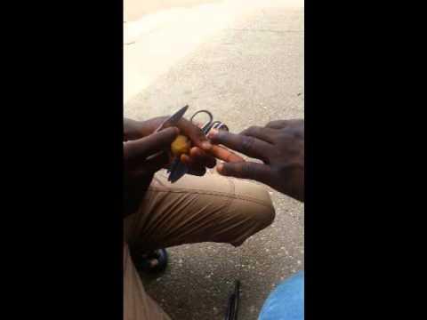Nail-Cutting Ghana style | Akwaaba Golden Tours