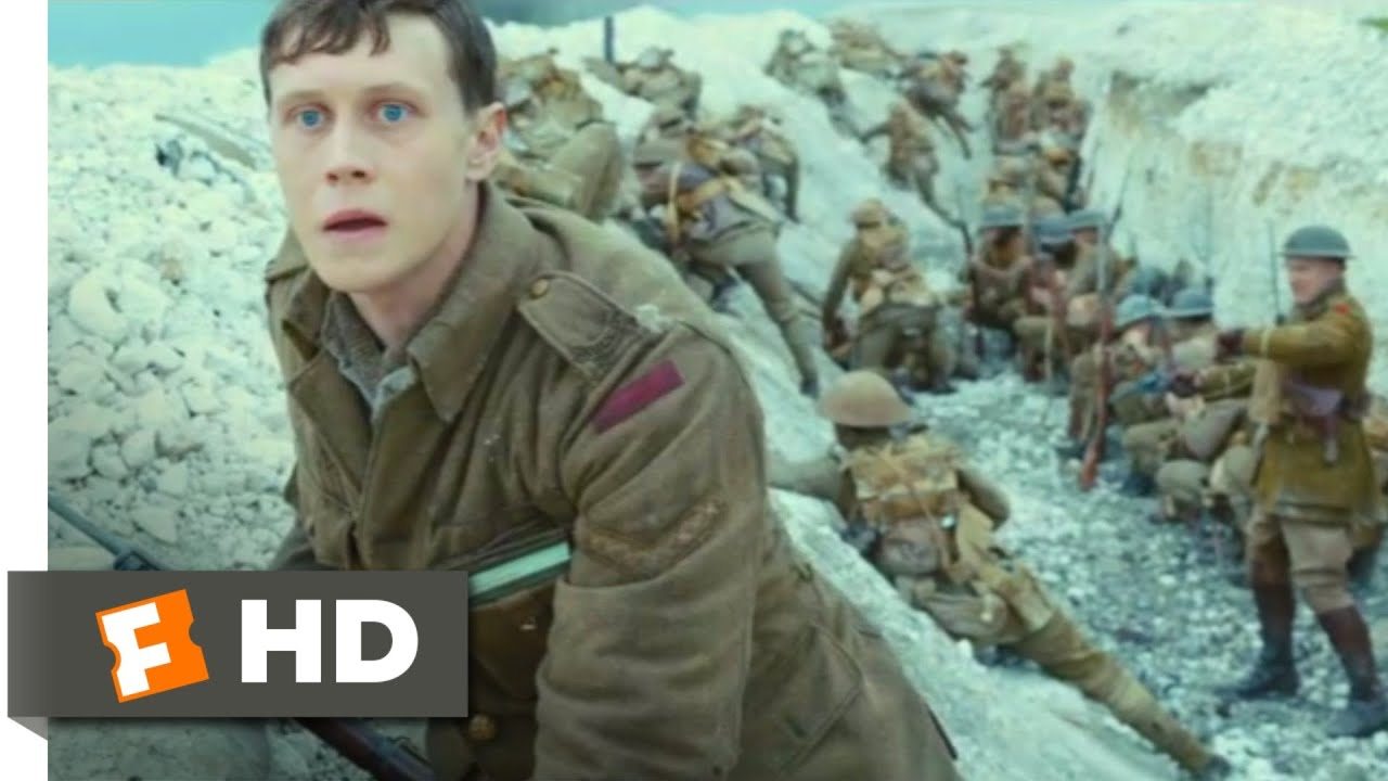 Download 1917 (2019) - Battlefield Run Scene (8/10)   Movieclips
