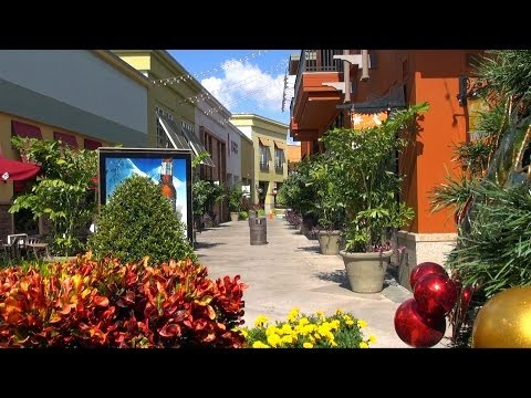 Bay Street at International Plaza with upscale dining & entertainment Tampa FL in HD