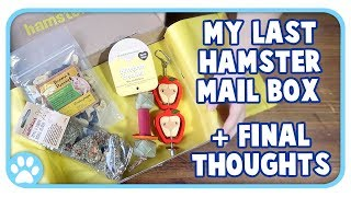 My Last Hamster Mail Unboxing + Final Review & Experience