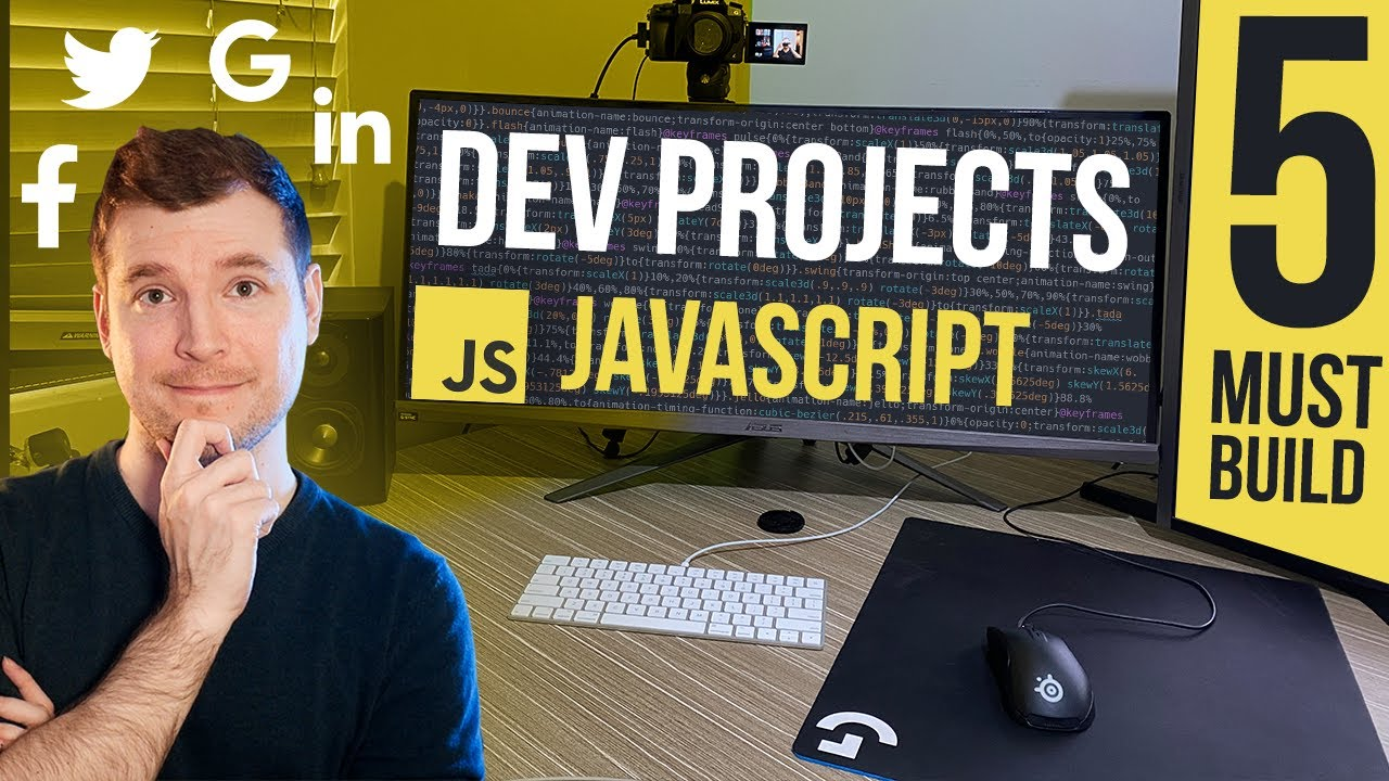 5 JavaScript Projects You Should Build as a Web Developer