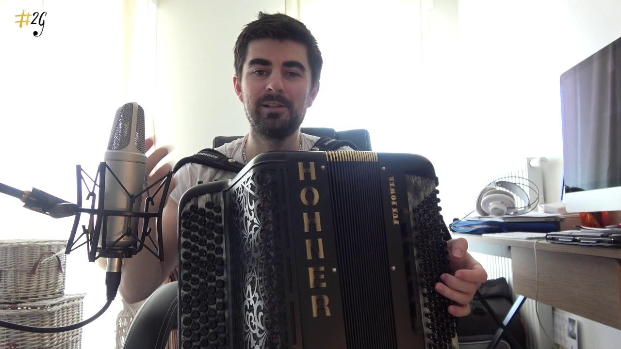 Apprendre l'accordéon 5 - Cours 3 : La main gauche