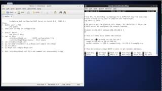 Install and Configure DHCP Server on CentOS 6