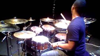 aaron stix smith at drum clinic in michigan
