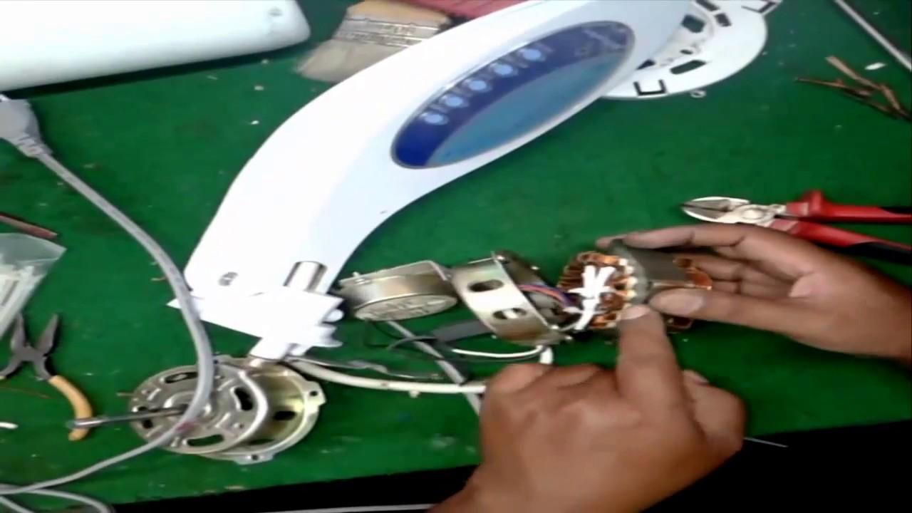 Cara Memperbaiki Kipas Angin Remot Miyako Youtube