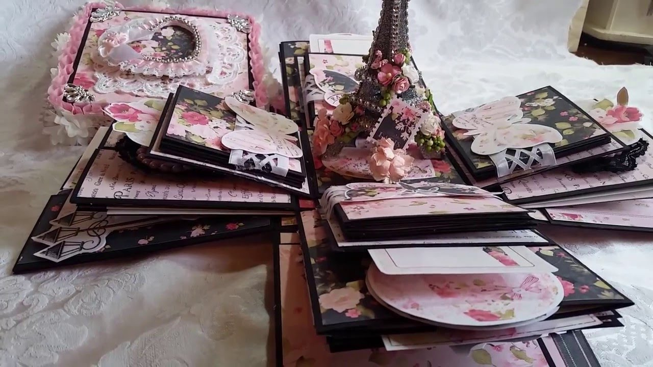 Sold Ooh La La Parisian Explosion Box For Nit Wit Collections Youtube