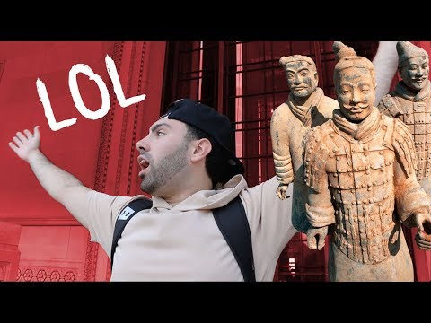 BECOMING A TERRACOTTA SOLDIER!!