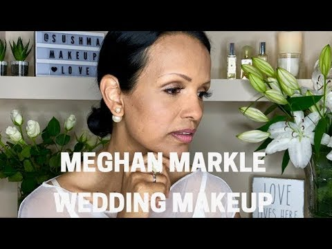 MEGHAN MARKLE WEDDING MAKEUP 2018