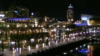 SYD_Night Scenery of Darling Harbour  Sydney