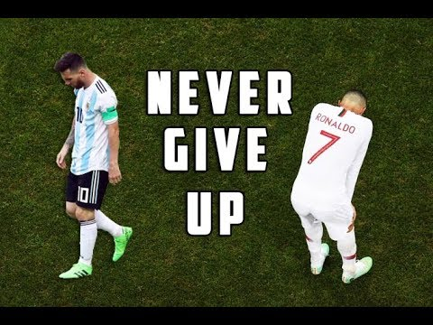 FIFA World Cup 2018 – Motivational Video • Lionel Messi & Cristiano Ronaldo – Never Give Up