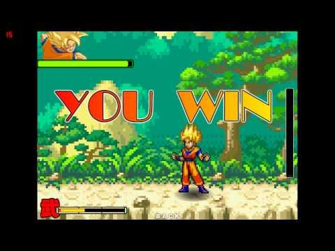 Gameplay Dragon Ball Fierce Fighting