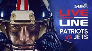 Patriots vs Jets | LIVE Monday Night Football NFL Betting on SBR