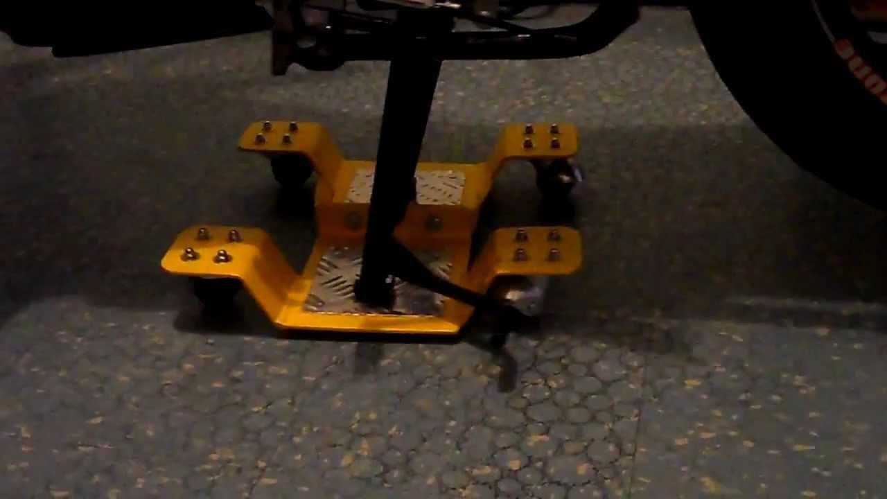 Plataforma carro para mover moto 360 con facilidad youtube - Garajes para coches ...