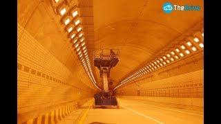 [차알못]터널 조명이 주황색인 이유는?