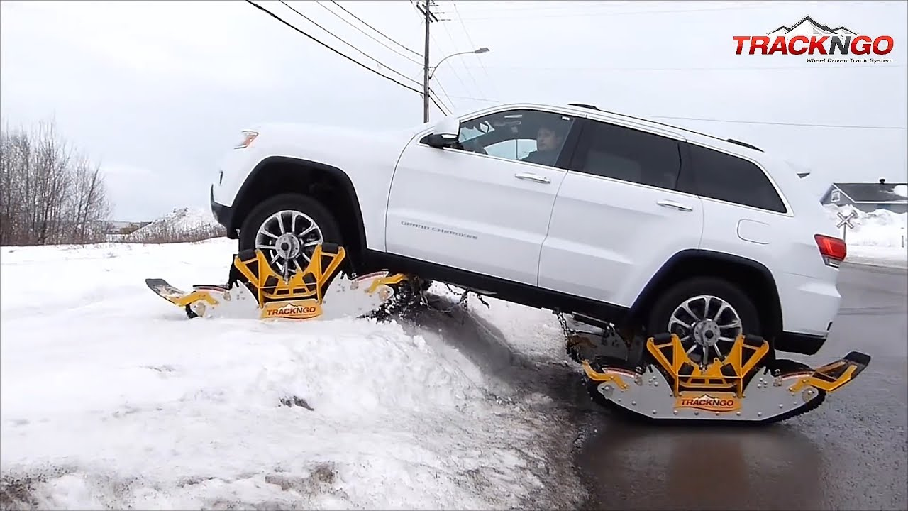 Snow Tracks For Trucks >> Wheel Driven Track System Conquers Snow