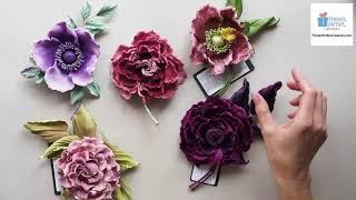 VELVET FABRICS for flower making: overview