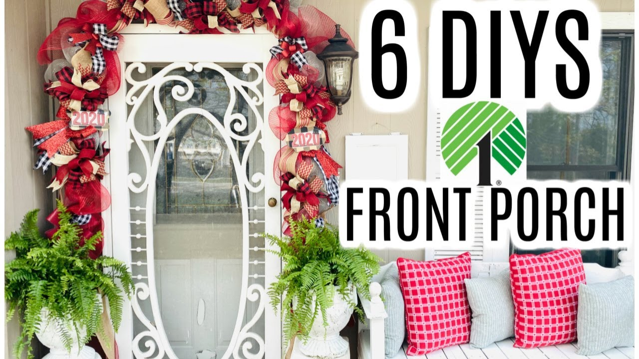 🍃30 DIYS DOLLAR TREE DECOR CRAFTS 30 FRONT PORCH 🍃GARLAND GRADUATION  Olivias Romantic Home DIY