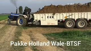 New Holland fully loaded || latest updates 2018 || asli power of new Holland