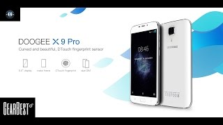Doogee X9 Pro test review pour gearbest